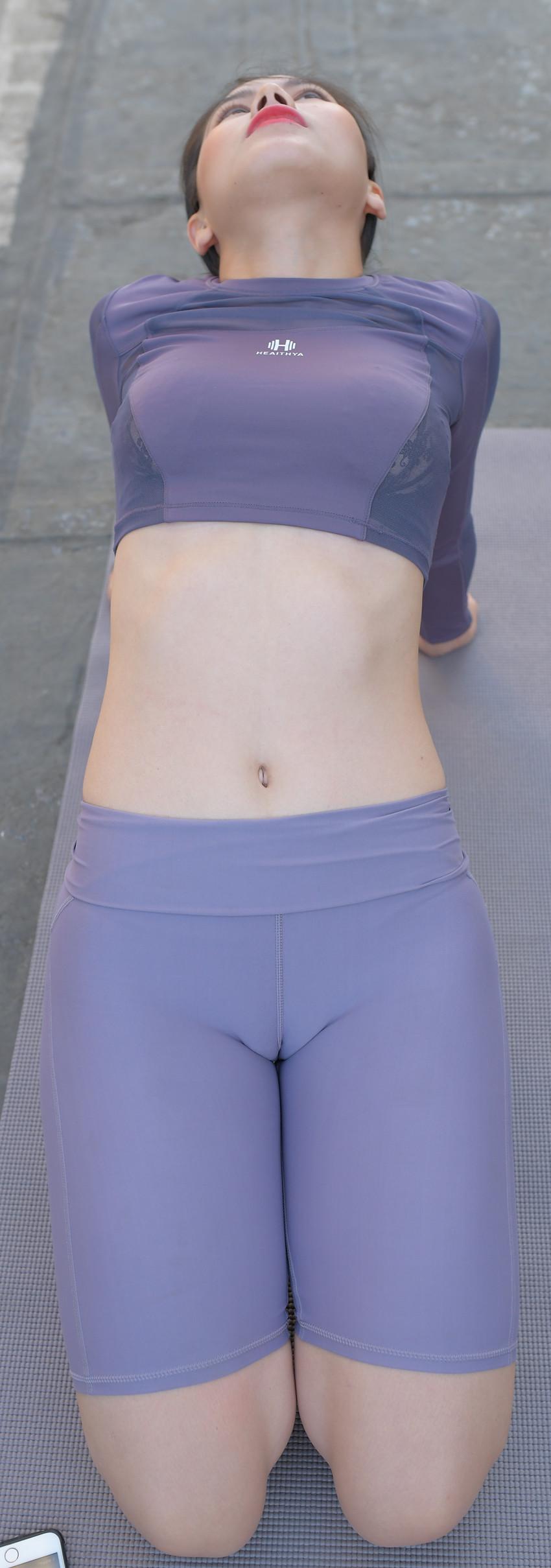 瑜伽短裤套装