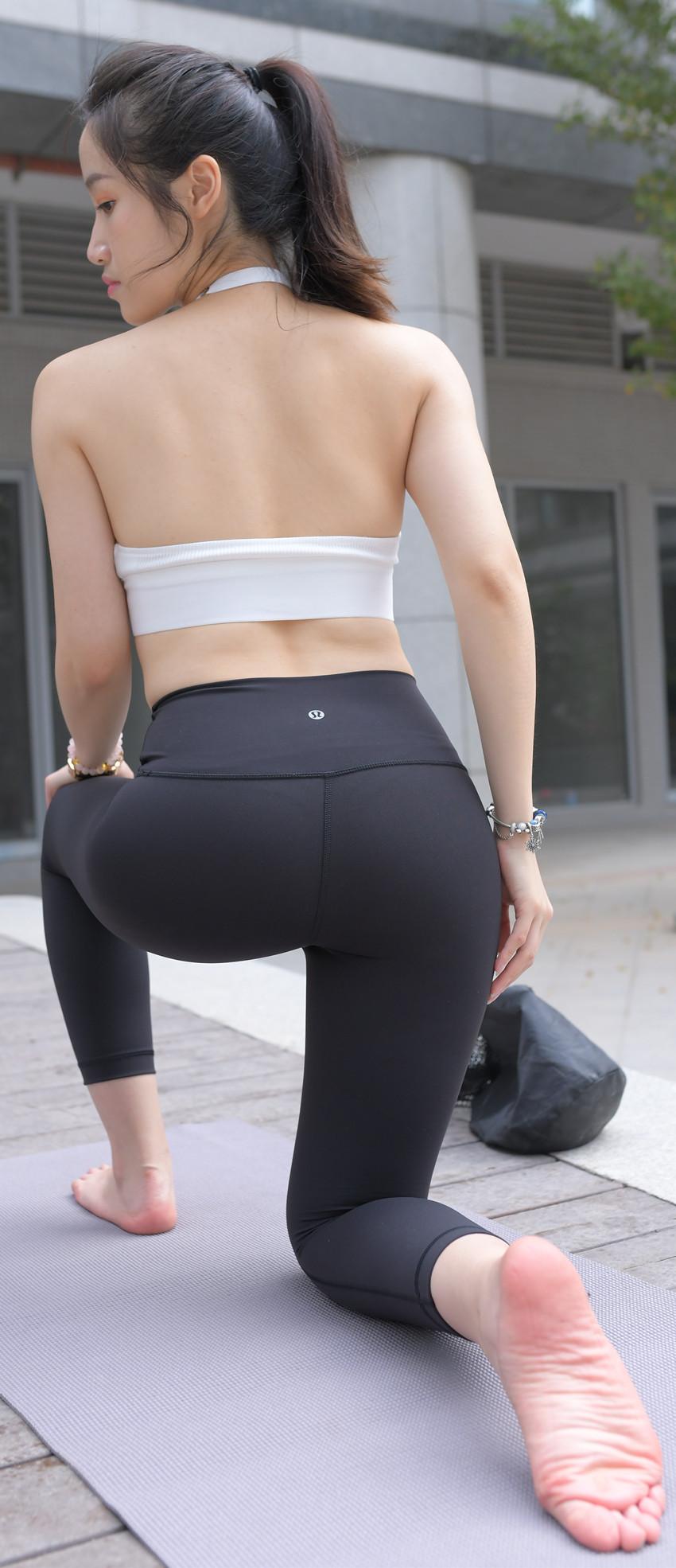 紧身瑜伽裤