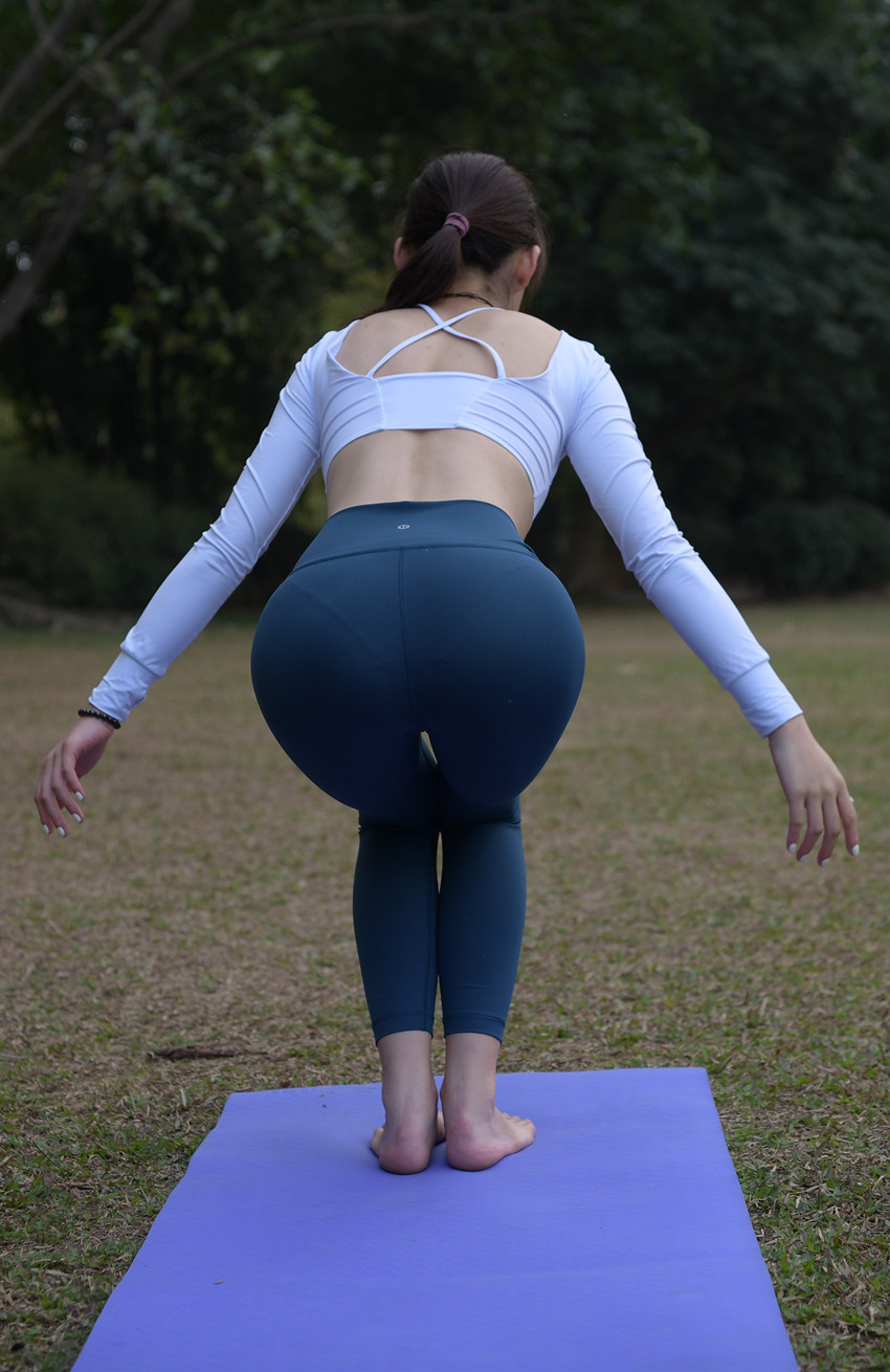紧身瑜伽裤(套图+视频)