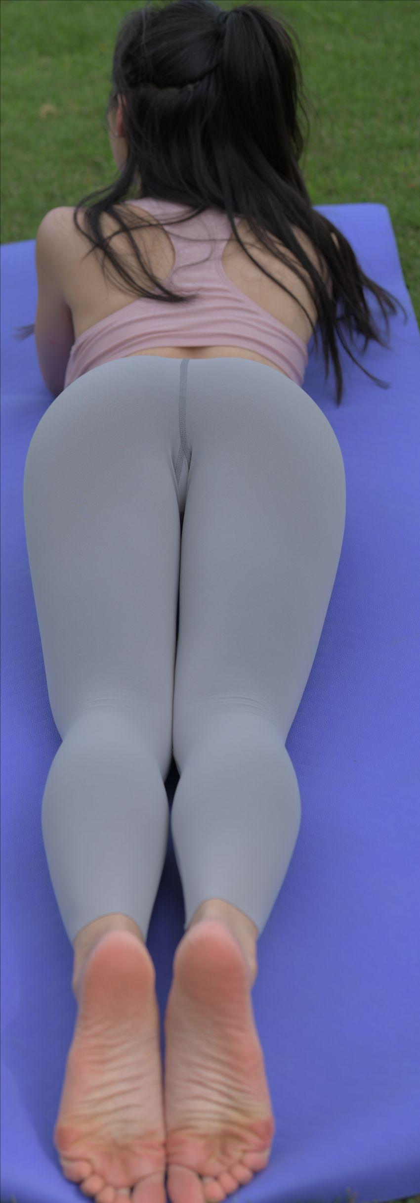 比基尼瑜伽裤紧身裤